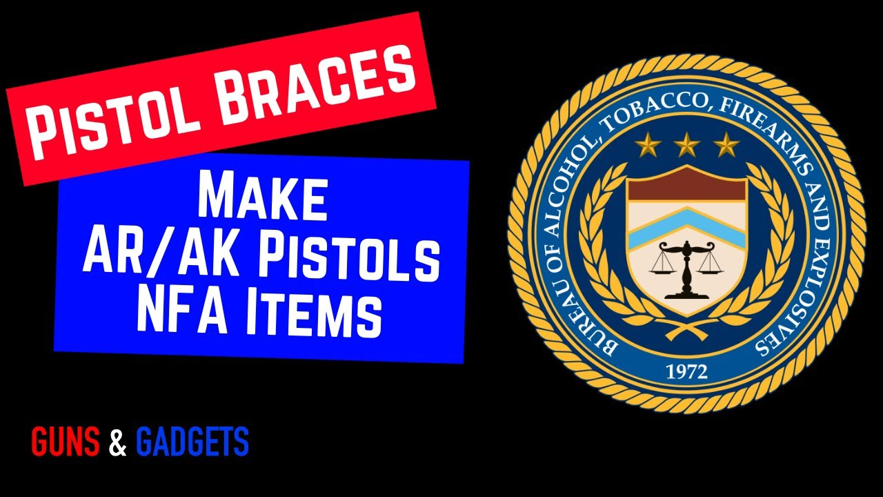 BREAKING!!! ATF Says 23 SB Tactical Braces Are Not Approved Devices (AKA NFA)