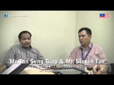 Voices of Malaysia - Mr. Steven Tan - CEO of TENTEN Telecommunications