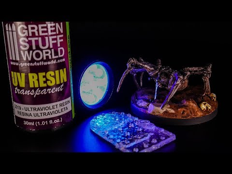 UV Resin - Easy Liquid FX and FAST Small Casting - No MIXING!