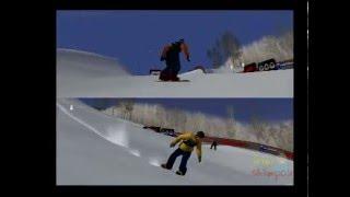 ESPN Winter X Games Snowboarding PS2 Multiplayer Gameplay (Konami / ESPN) Playstation 2