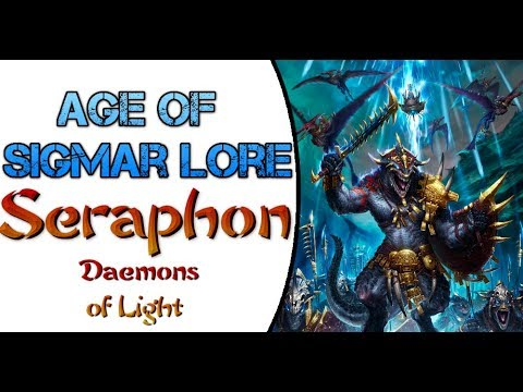 Age of Sigmar Lore: Seraphon, Daemons of Azyr