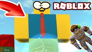 NEW HOW TO OOF GIANT NOOB | Destroy the Giant Noob Roblox