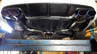 Mercedes C300 Magnaflow Mufflers + X-Pipe Revs