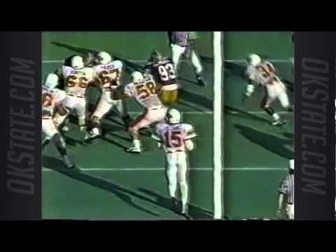 Oklahoma State at Washington - 1985 Football - 1st Half
