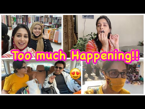 My way of smudge kajal makeup| Shopping for 2 Special occassions| I Ordered something spl for myself