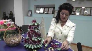Новогодний мастер-класс: сладкая елка к празднику