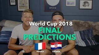 WORLD CUP PREVIEW - FINAL PREDICTIONS