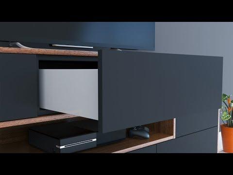 corredi a push open metalnox. Black Bedroom Furniture Sets. Home Design Ideas