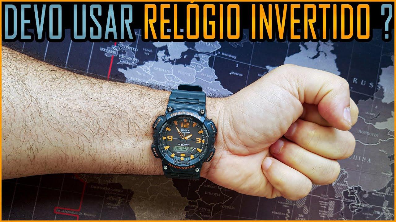 Pq Militares Americanos Usam Relógio Invertido