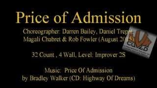 Linedance Price Of Admíssion (Teach & Demo) with Daniel Trepat
