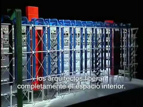 El Centro Georges Pompidou   Arquitecturas 1997