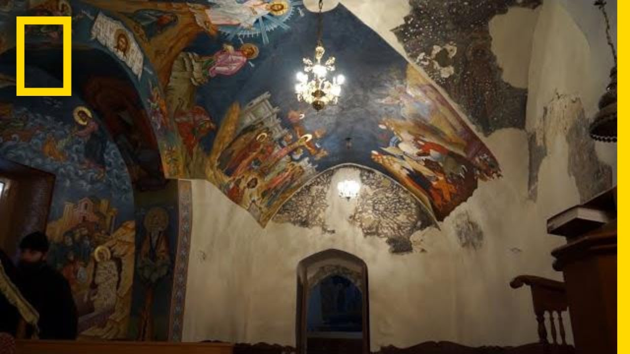 Canyons and Caves Preserve a Tradition from Early Christianity in Lebanon | National Geographic