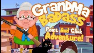 JOGO DA VÉIA: GrandMa Badass (Gameplay em Português PT-BR)