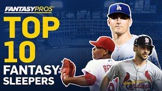 Top 10 Sleepers in Fantasy Baseball (2019)