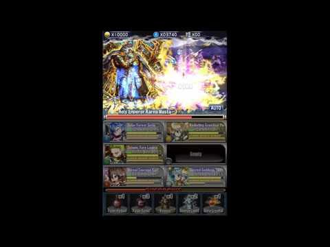 [Brave Frontier Global] Menon final battle w story scene