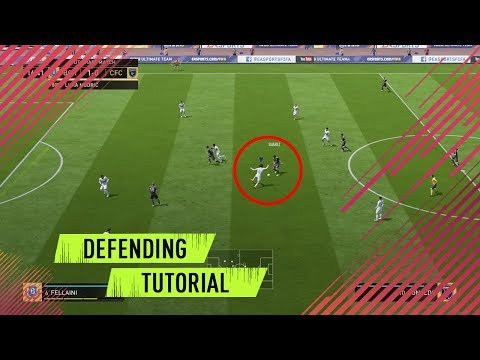 HOW TO DEFEND IN FIFA 18 - EASY DEFENDING TUTORIAL