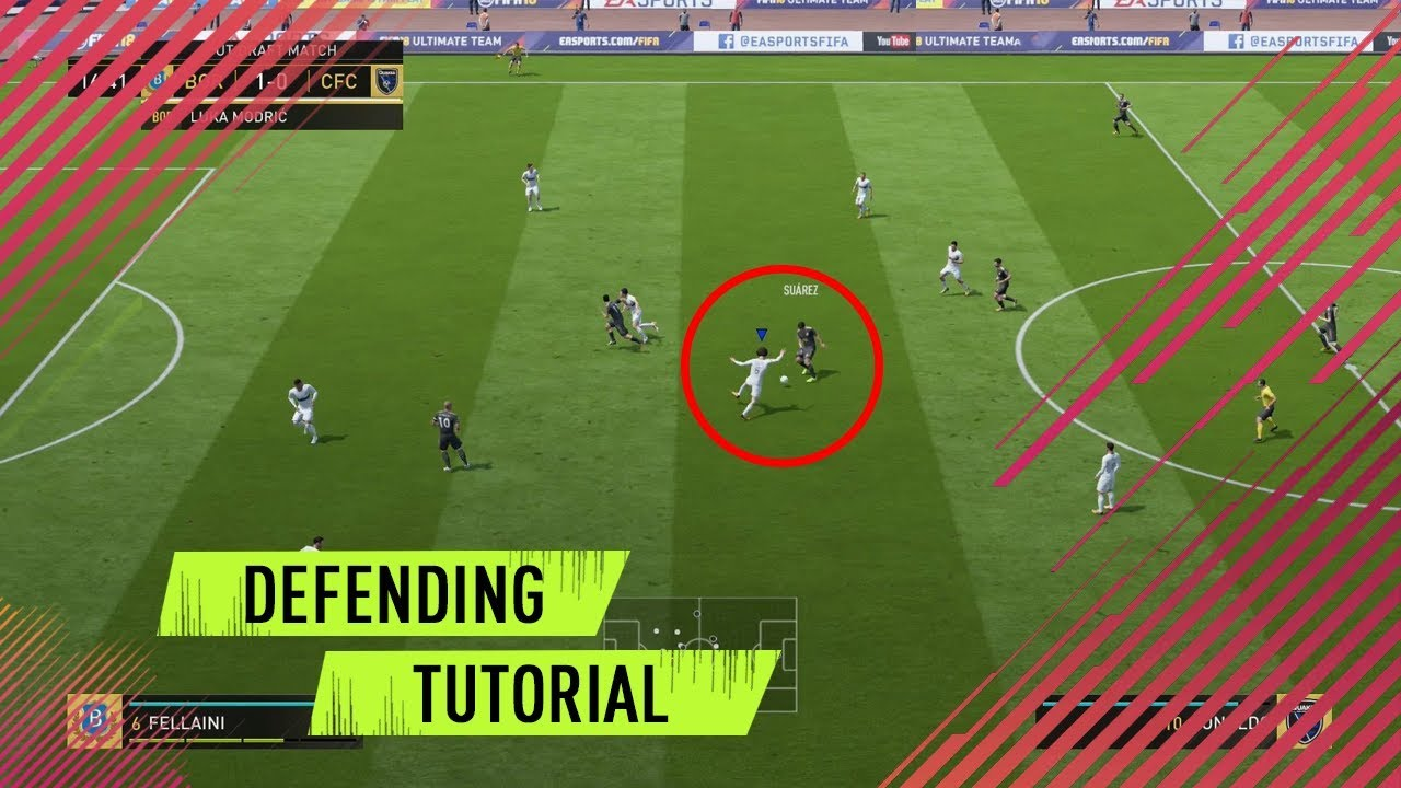 FIFA 19 Defending tutorial - fifaaddiction com