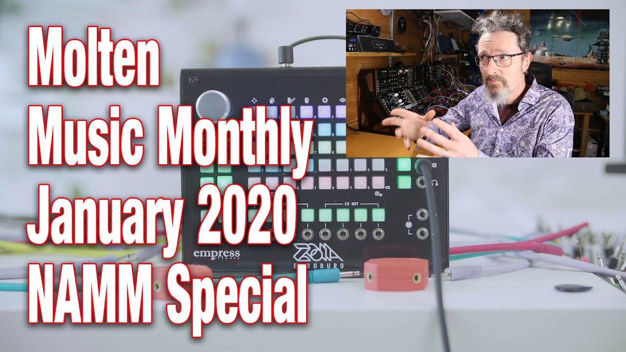 Molten Music Monthly January 2020 Namm Special Youtube