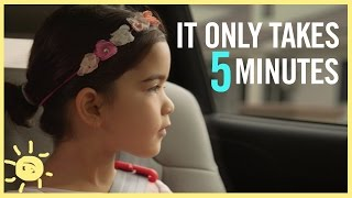 ways to connect with your kids in 5 minutes quaker chewy ad
