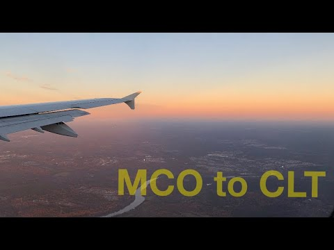 American Airlines- Orlando To Charlotte