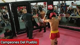 🥊Guillermo Genovez Vs Siro Ramos - KICK BOXING - AMATEUR - Campeones Del Pueblo - Siempre Humilde