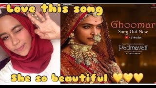 Padmavati : Ghoomar Song | Deepika Padukone | Shahid Kapoor  |Shreya Ghoshal | indonesia reaction