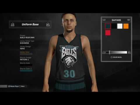 5b188ce7f22 NBA 2k17 Philadelphia Eagles Court & Jersey Design/Tutorial(NBA 2k17  MyTeam) by Scyther