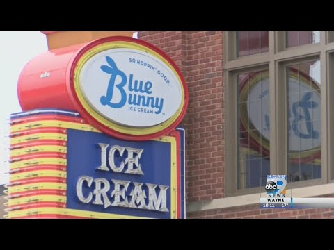 Blue Bunny Ice Cream Parlor Reopens