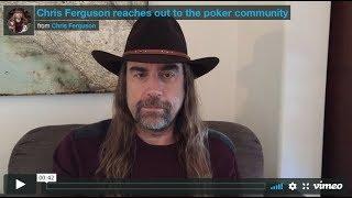 Chris Ferguson APOLOGIZES for Role in Black Friday & Poker Community Responds! #WSOP