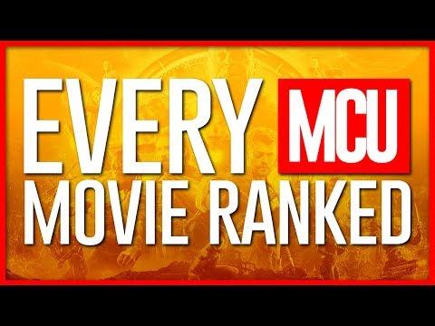Definitive Marvel Cinematic Universe Ranking