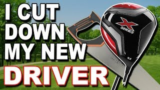 I CUT DOWN MY BRAND NEW CALLAWAY DRIVER - but did it work ?