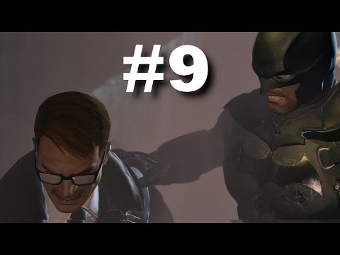 BATMAN ARKHAM ORIGINS GAMEPLAY WALKTHROUGH #9 - GOTHAM CITY POLICE DEPARTMENT #2