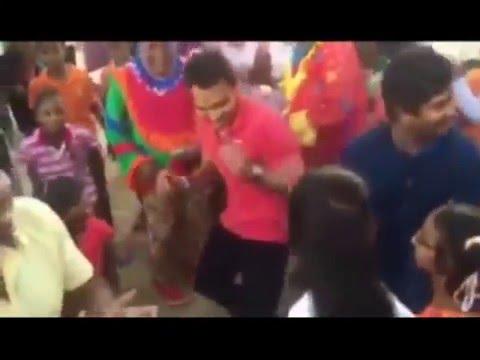 Namal Rajapaksa Papare Dance