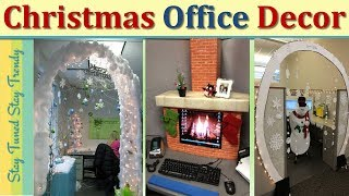 Christmas Decorations | Christmas Decoration Ideas For Office | Christmas Tree | Diy Christmas Decor