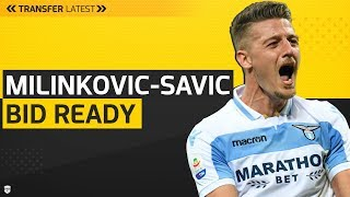 Milinkovic-Savic Bid Ready! | Lukaku Deal Rejected! | Man Utd Transfer Latest