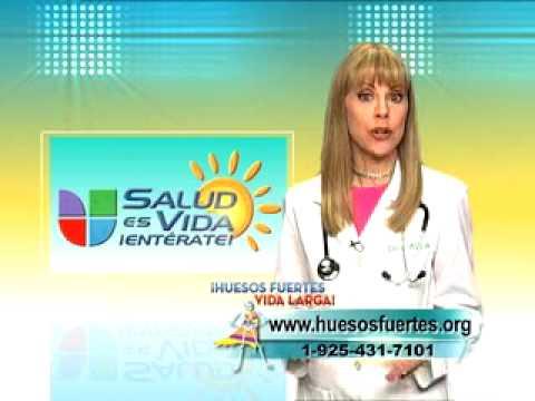 Salud Es Vida Enterate PSA Osteoporosis - YouTube