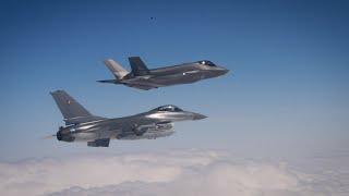 F-35 besøgte Danmark