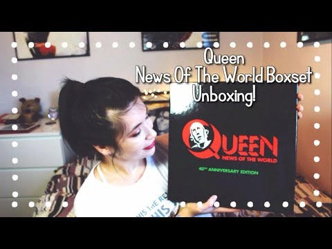 Queen News Of The World Boxset - Unboxing!