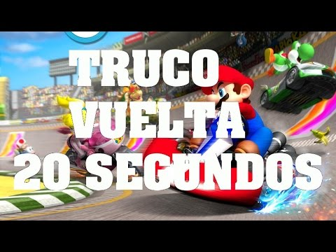 Mario kart Wii - Truco Glitch, Bug: Como dar una vuelta en 20 segundos