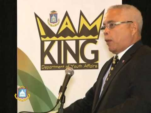 DCOMM SPECIAL I AM KING PT1 - DEPT. OF YOUTH AFFAIRS