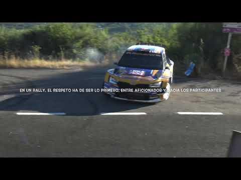 Rally Ourense 2020   Pinchazo Jose Antonio Suárez