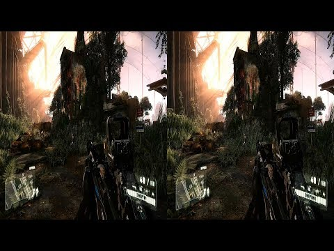 3d video sbs hd 1080p Crysis 3 - Welcome to the Jungle