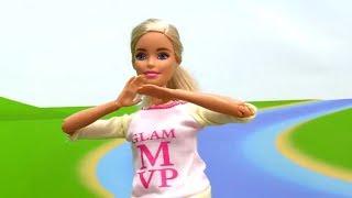 Видео про кукол - Барби занялась спортом