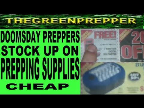 DOOMSDAY PREPPERS - STOCK UP ON PREPPING SUPPLIES CHEAP