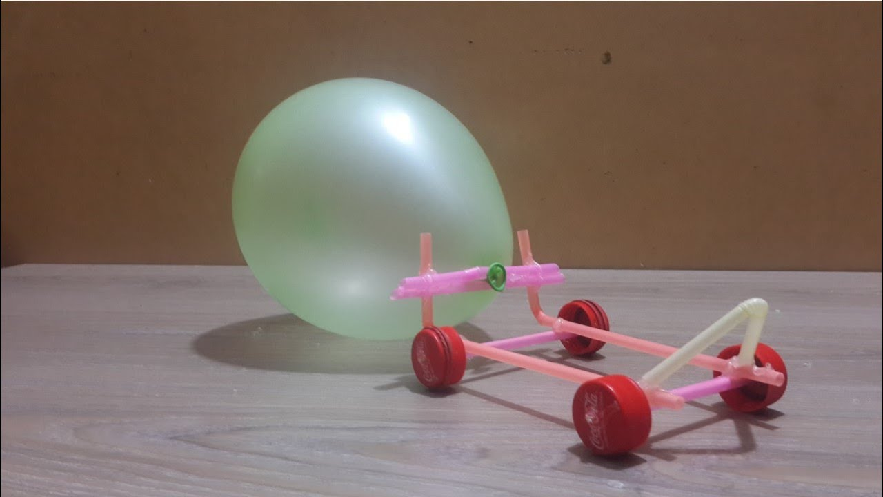 balloon powered car Table 1: materials used to build balloon car material description amount use 1/8 x 3 x 36 balsa plank 1 car body 1/4 x 1/2 x 36 balsa strips 2 balloon stand.