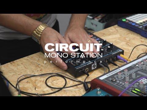 Novation // Circuit Mono Station - Performance