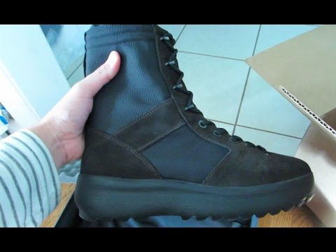 fc1bd8ad749 Adidas Yeezy Season 3 Onyx Military Boot Unboxing and Impressions