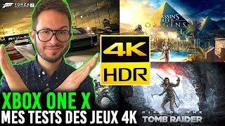 XBOX ONE X : MON TEST DES JEUX 4K