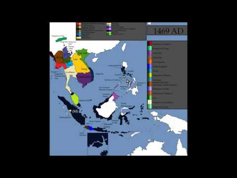 History of South East Asia - Every Year