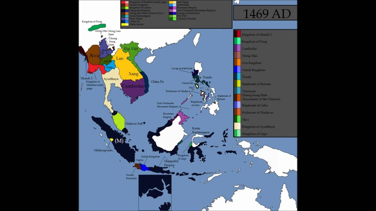 history of south east asia every year youtube